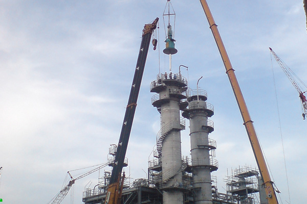 Mechanical Erection Works & Steel Structures
